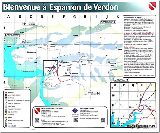 Wandern um Esparron sentiers trekking_1